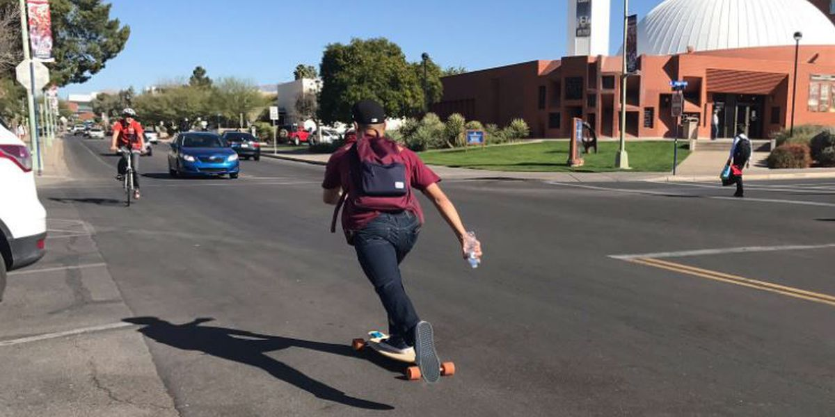 Increased patrols near UA campus aimed at pedestrian safety