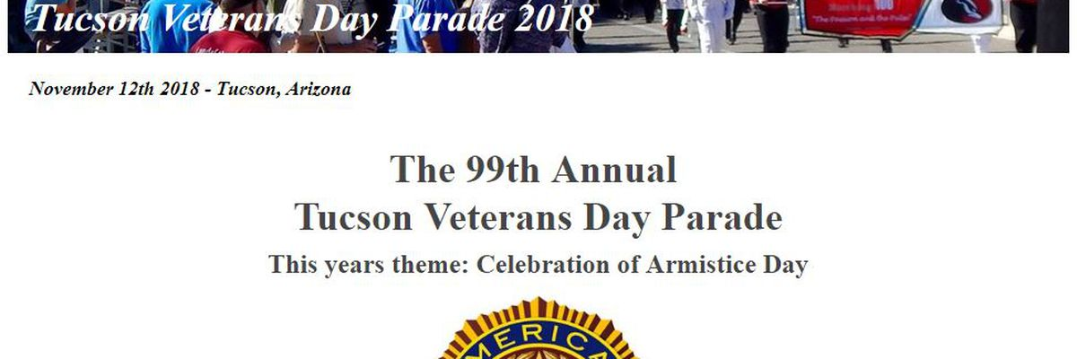 99th annual Tucson Veterans Day parade