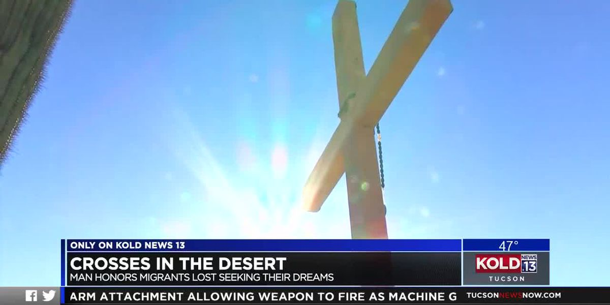 ONLY ON KOLD: Crosses in the desert