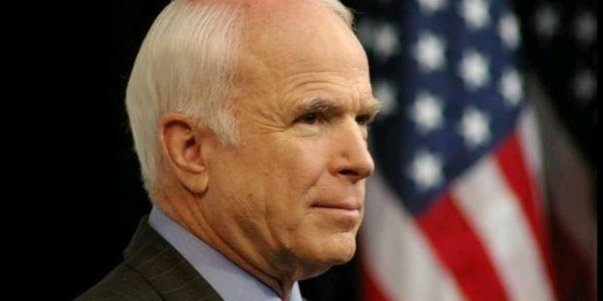 McCain to be laid to rest at U.S. Naval Academy