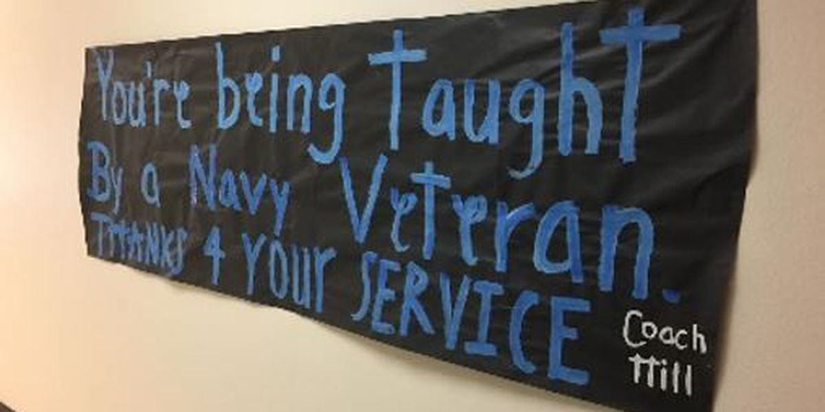 Combs High School celebrates veterans