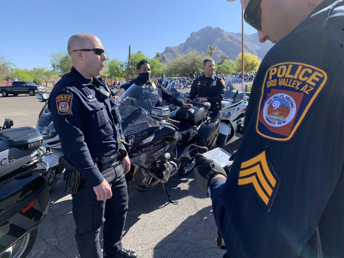 Oro Valley Police honor fallen veterans