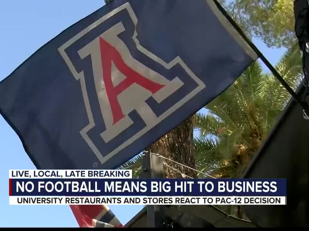 Business on University Blvd react to Pac-12 decision