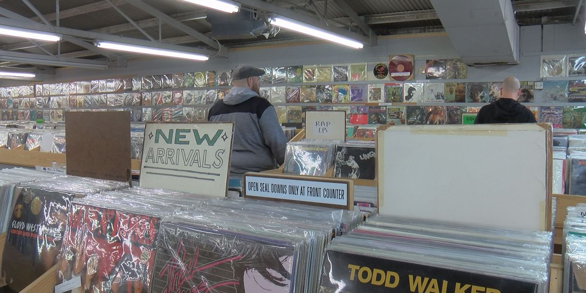 Beloved record store celebrates its last days