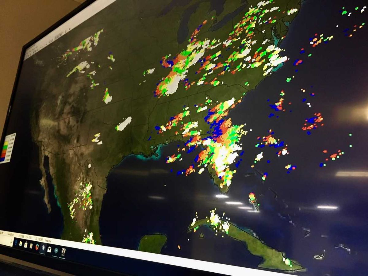 Data making a difference: Tracking lightning around the world in Tucson