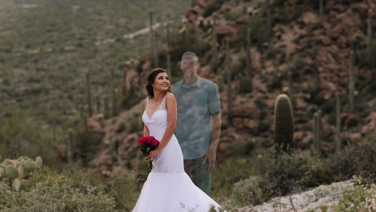 Tucson woman shares safety message with 'should've been' wedding day photos