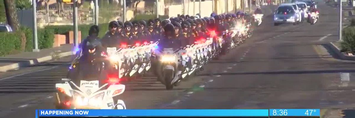 WATCH: Procession for deputy US marshal killed in Tucson