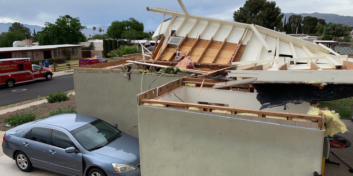 TFD: Roof of home collapses on southeast side
