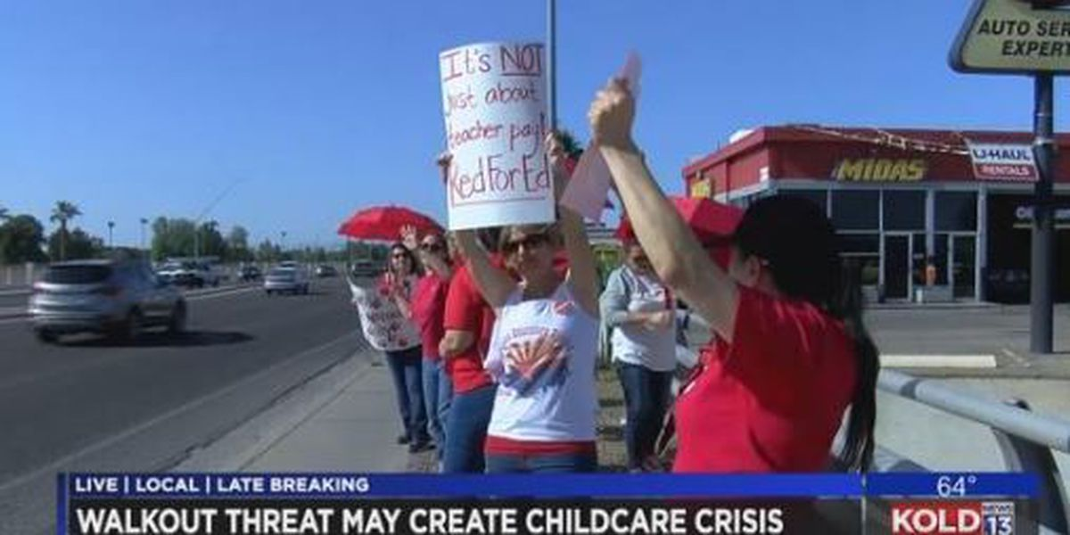 TEACHER WALKOUTS: Where can children go if their school is closed?