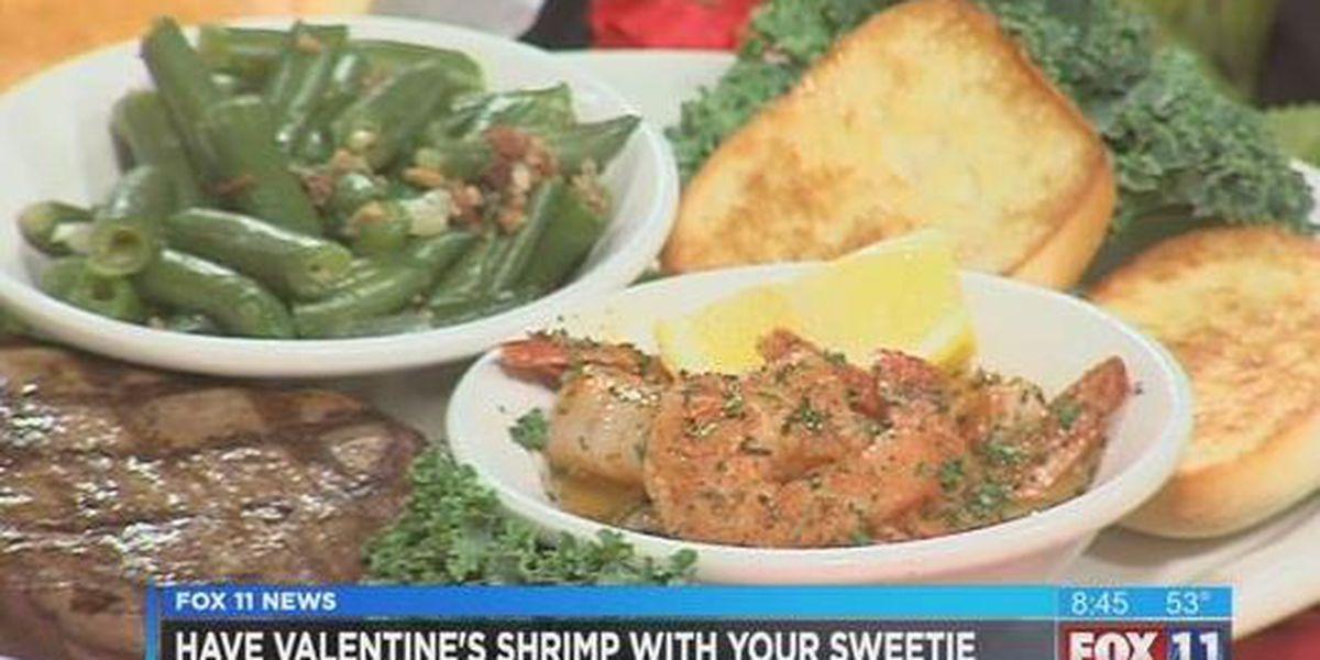 Texas Roadhouse Grilled shrimp