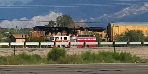 NWFD: Train fire is now out