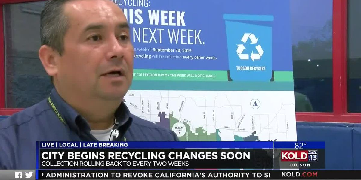 Changes to Tucson recycling program coming soon