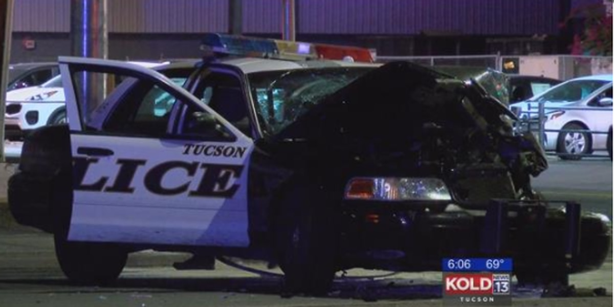 Tucson police officer recovering after accident