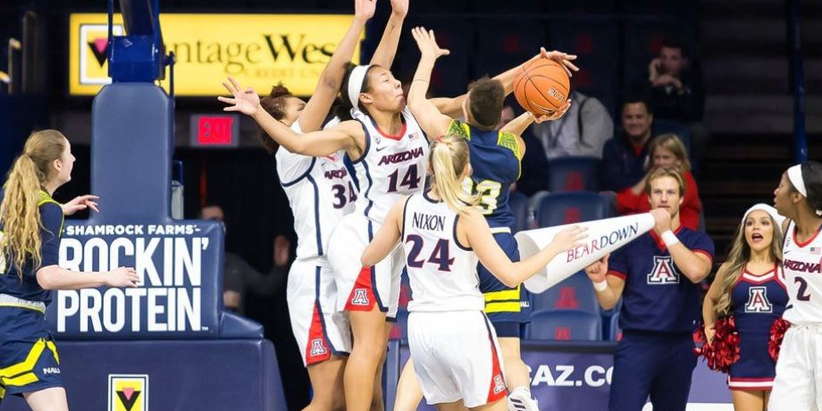 WNIT: Sam the shot blocker