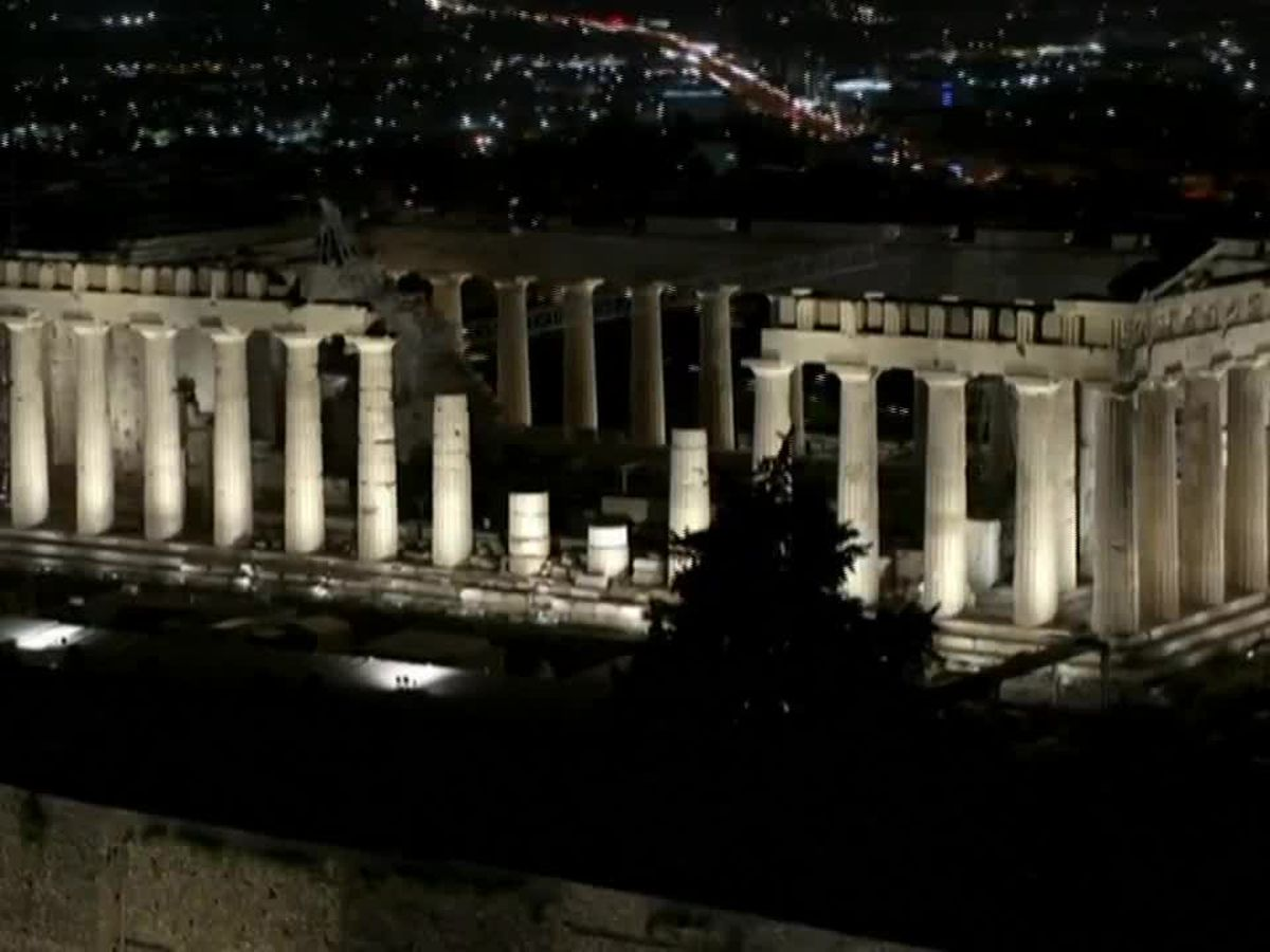 Acropolis in Greece brightens up with new lighting systems