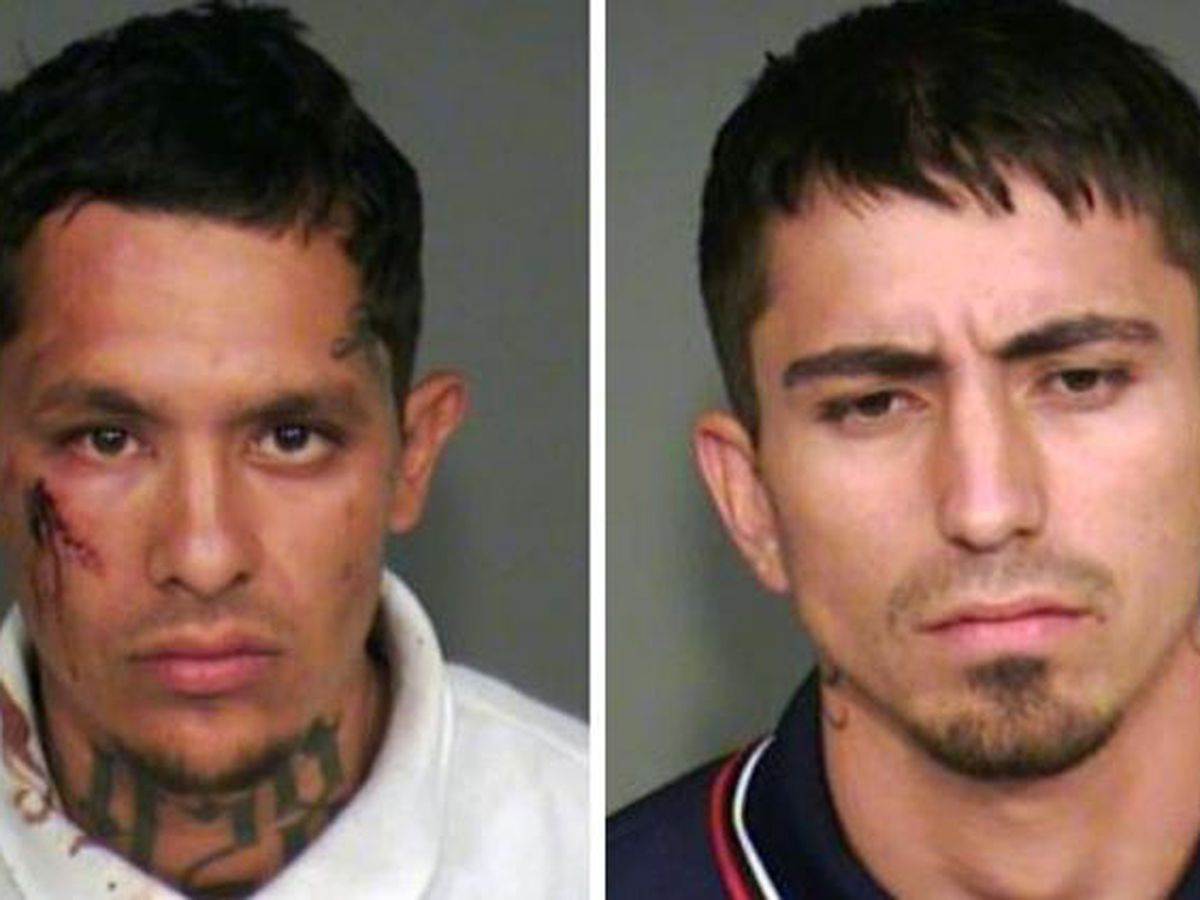 Two men accused of robbing elderly Chandler couple at gunpoint