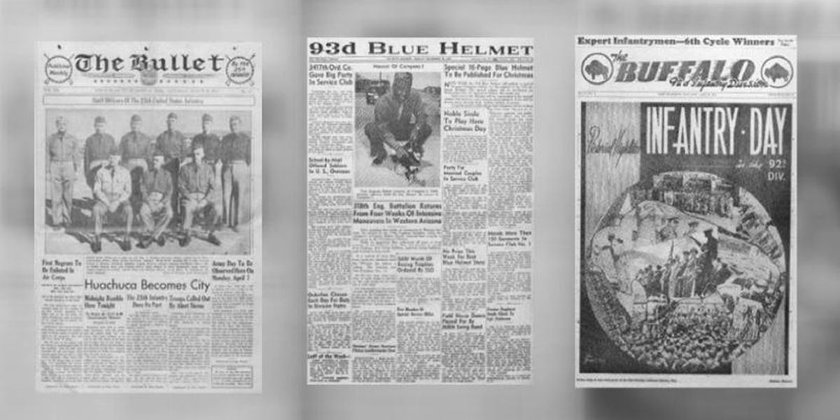 Three African American military newspapers are now on the Arizona Memory Project