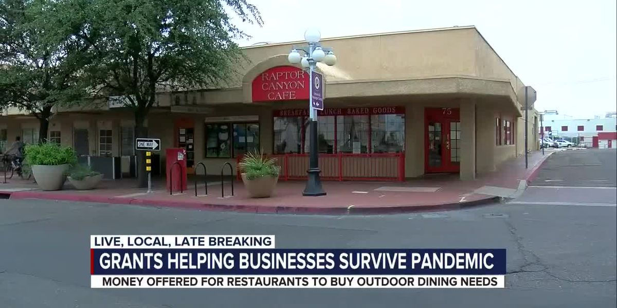 Pima County and Downtown Tucson Partnership grants help businesses expand outdoor dining