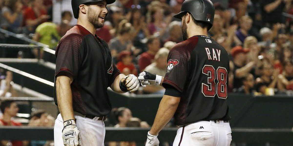 Ray undefeated in last seven starts; Dbacks beat Phils 9-2