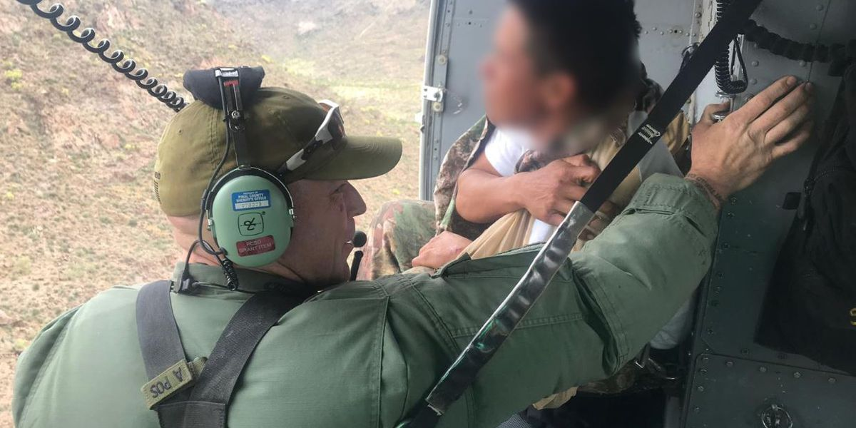 Border agents, air crews come to aid of migrants in distress