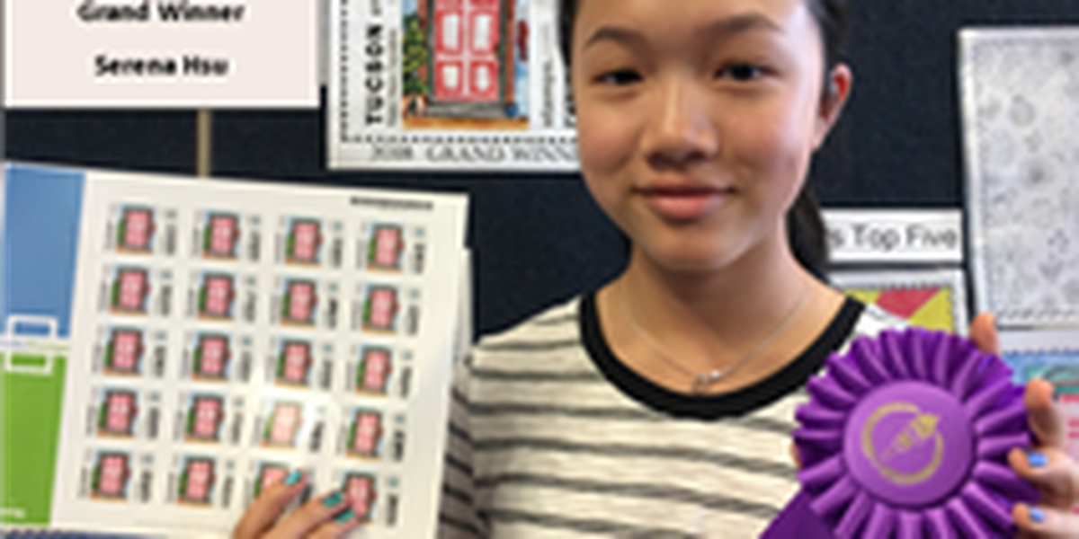 Stamp Design Contest now accepting entries from Tucson kids