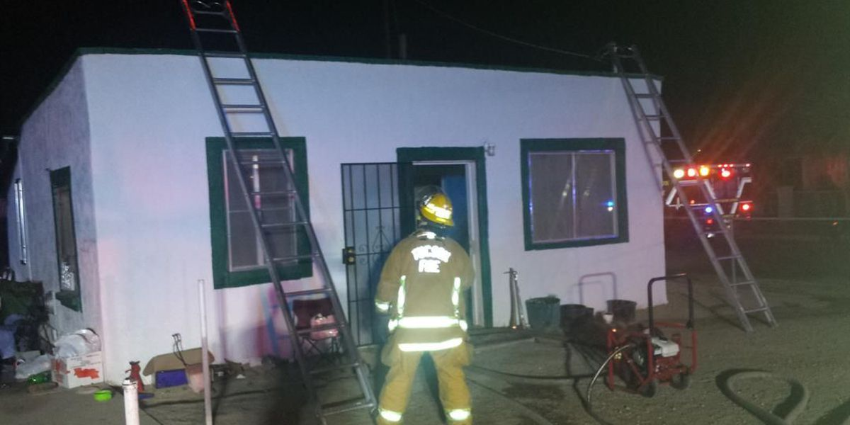 Tucson couple escape house fire unharmed