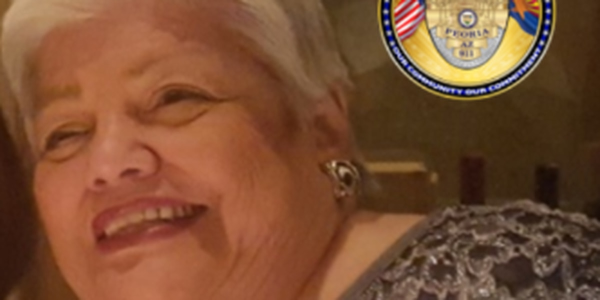 SILVER ALERT: Peoria police ask for help to find missing elderly female