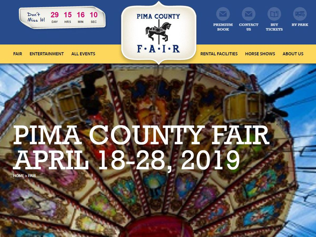 Pima County Fair 2019 is just around the corner