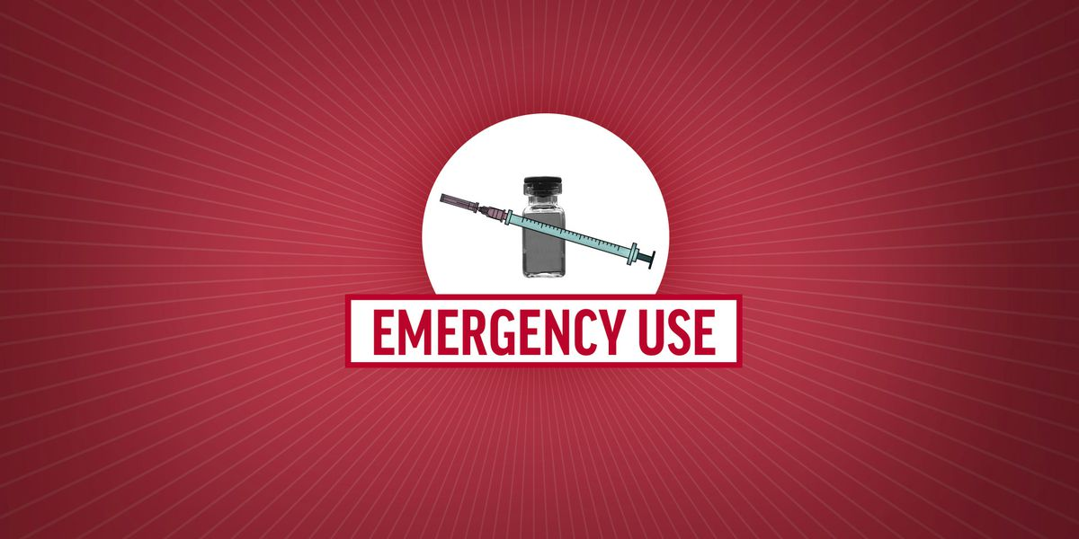 What does emergency use of a COVID-19 vaccine mean?