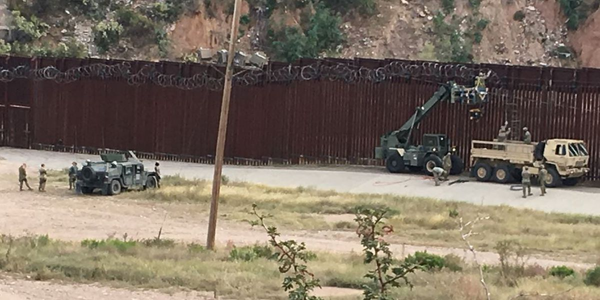 Military presence increasing at the Nogales Border