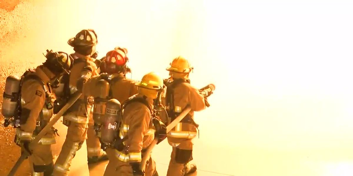 Rio Rico Fire District holds propane fire training