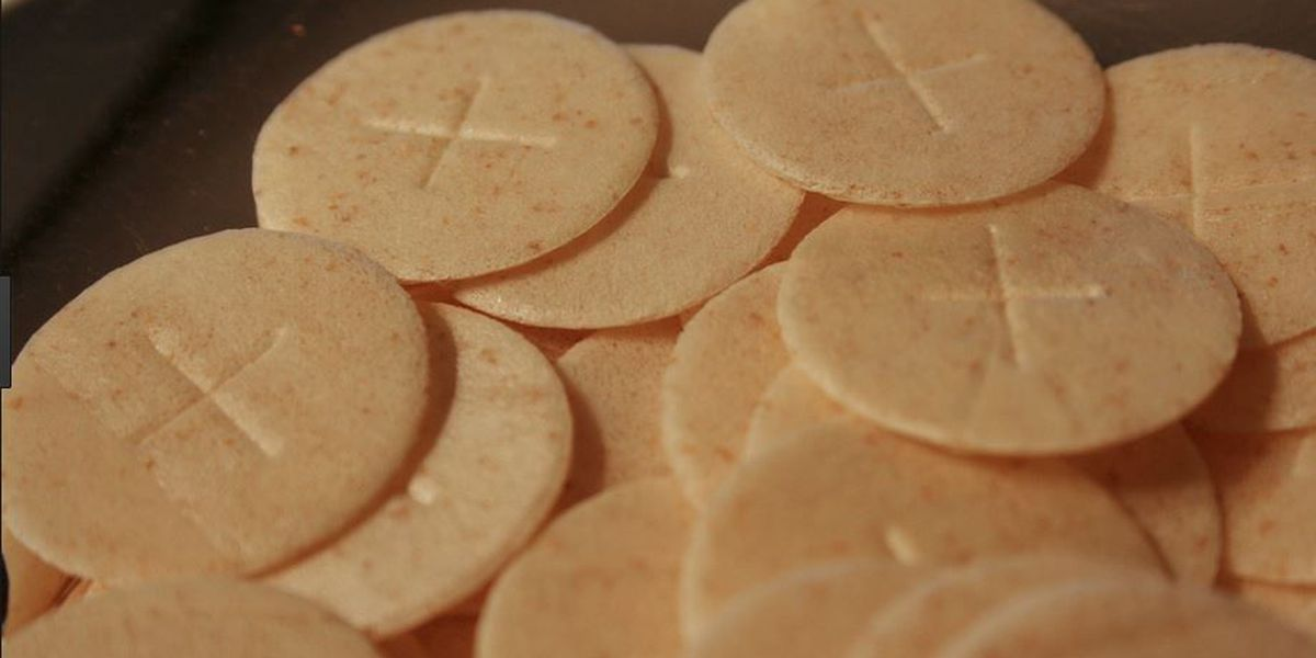 Vatican says Holy Communion wafers must contain some gluten