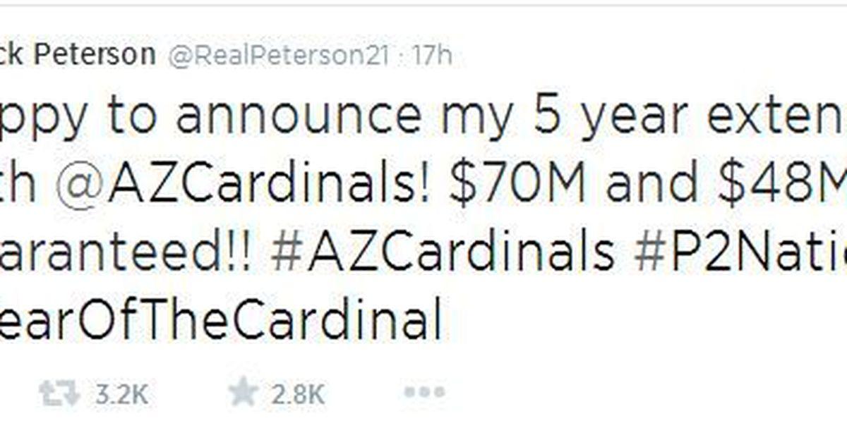 Petersen signs extension