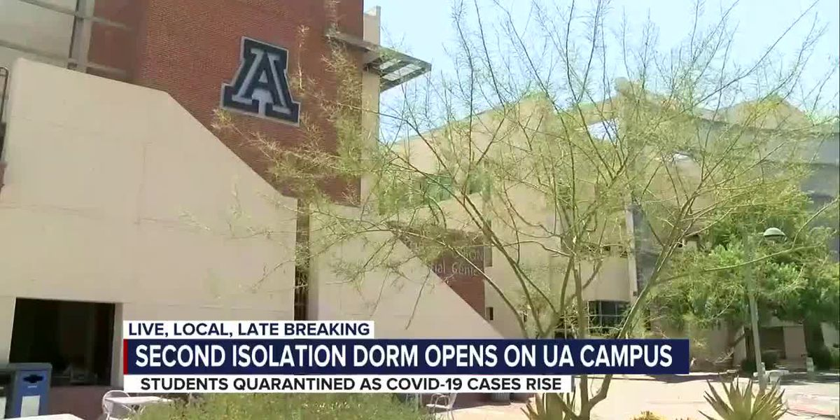 U of A opens second isolation dorm as COVID-19 cases grow