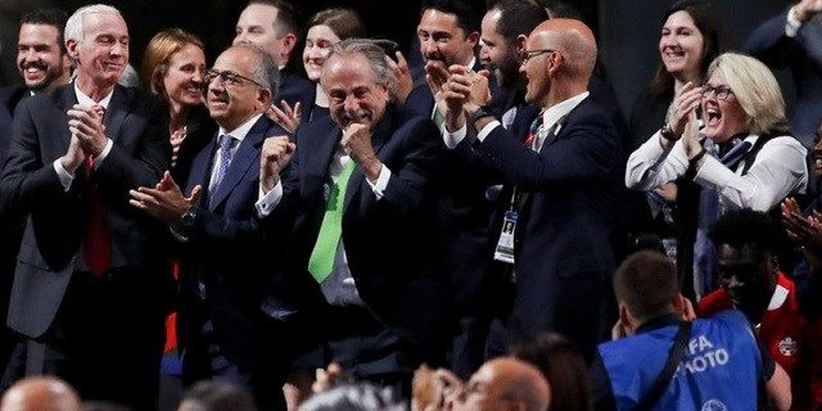 North American trio beats Morocco to host 2026 World Cup