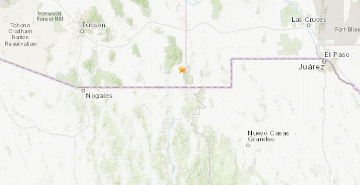earthquake rattles southeastern arizona earthquake rattles southeastern arizona