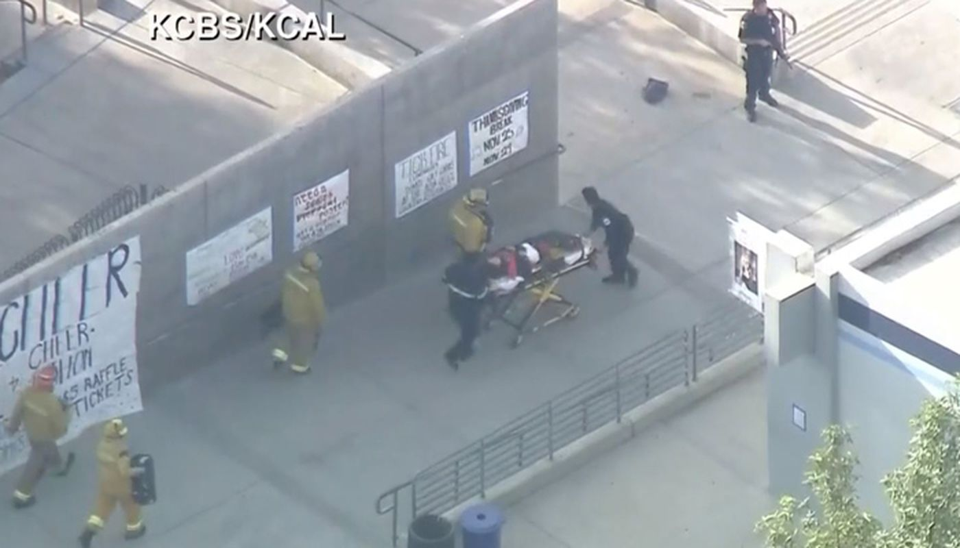 Hospital lists 5 patients from Southern California school shooting