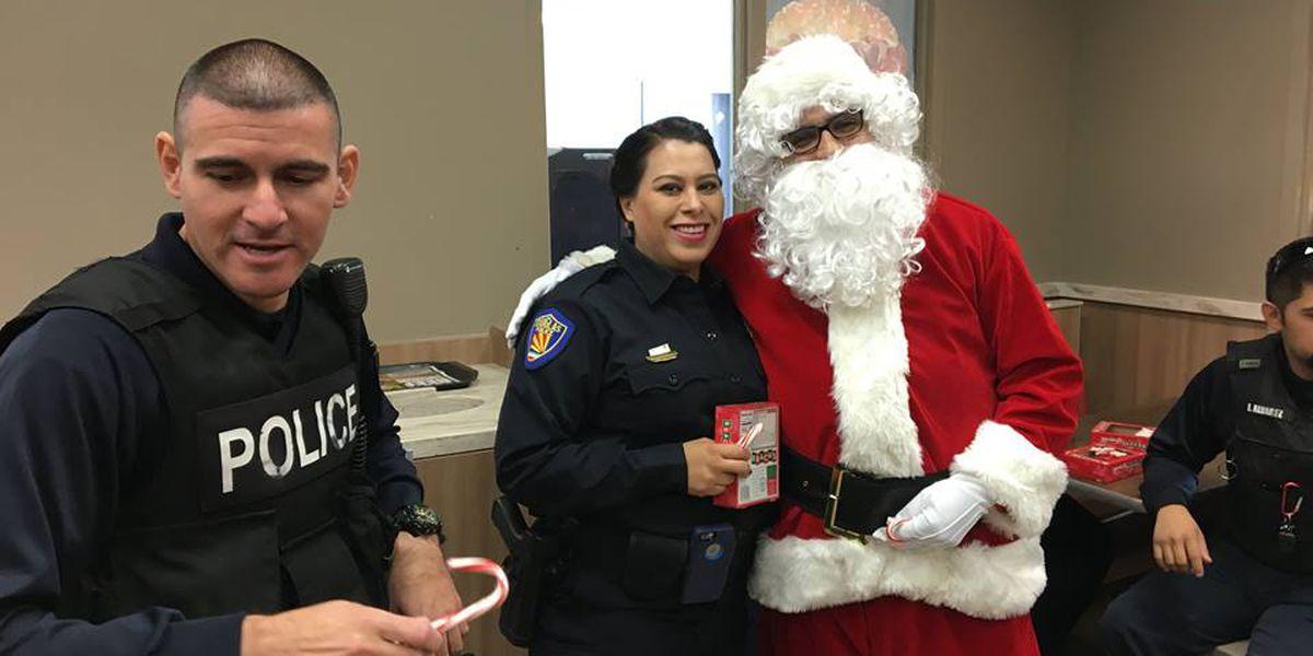 Douglas Police Department hosts Shop with a Cop event