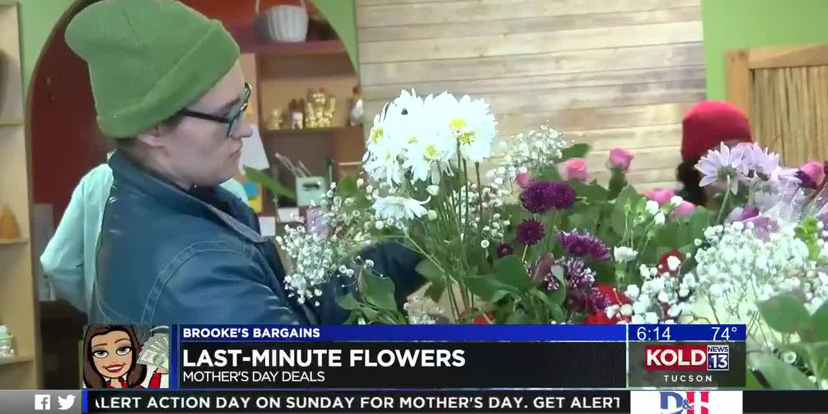 Brooke's Bargains: Last-minute flower deals for Mother's Day