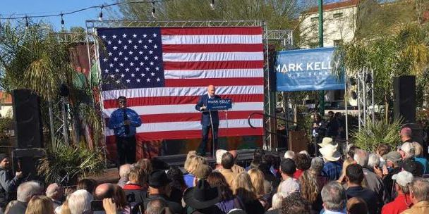 Mark Kelly launches Senate campaign in Tucson