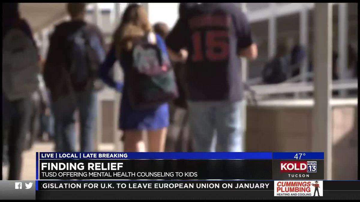 TUSD students offered free mental health counseling